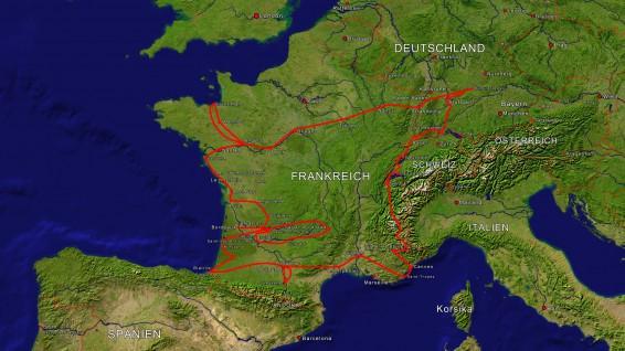 """""""Bonjour et Bienvenue"""" ...eine Reise quer durch Frankreich @ Kloster Herbrechtigen"""